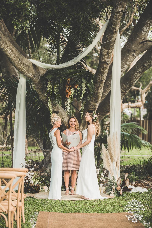Same sex wedding Noosa